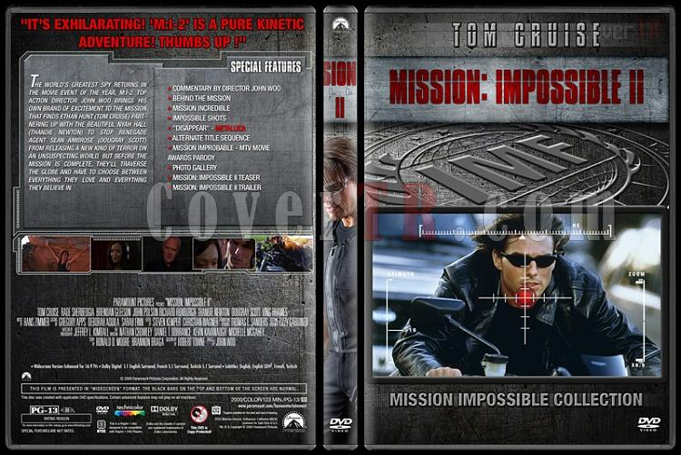 Mission: Impossible Collection - Custom Dvd Cover Set - English [1996-2015]-2jpg