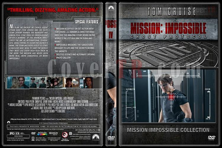 Mission: Impossible Collection - Custom Dvd Cover Set - English [1996-2015]-4jpg