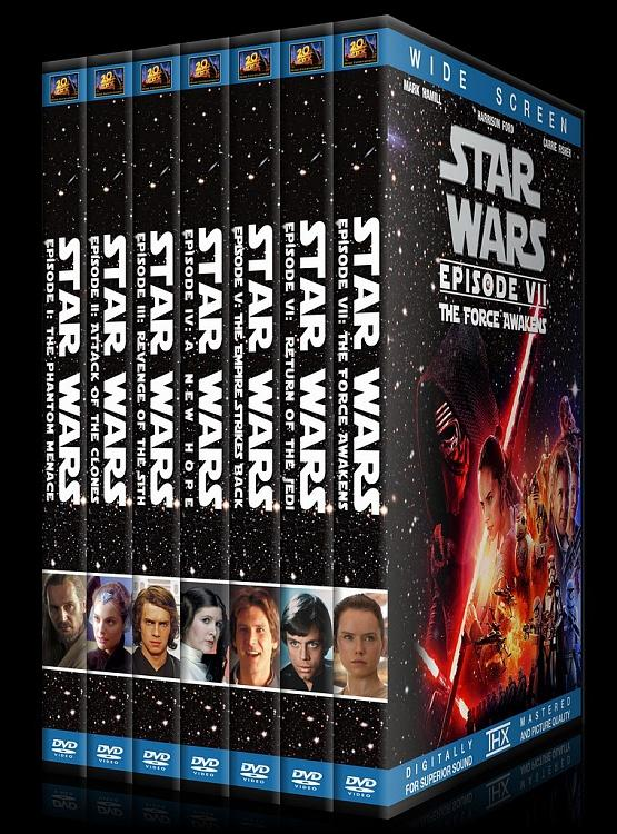 Star Wars Collection - Custom Dvd Cover Set - English [1977-2015]-0jpg