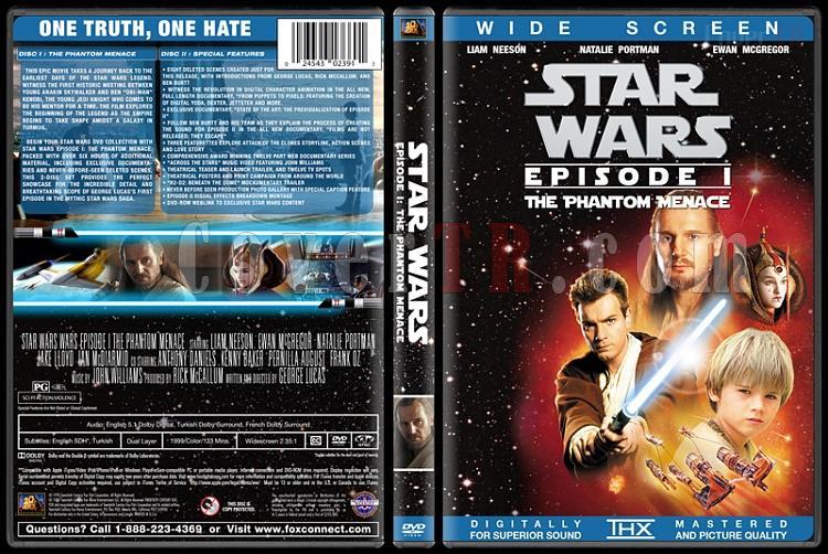 Star Wars Collection - Custom Dvd Cover Set - English [1977-2015]-1jpg