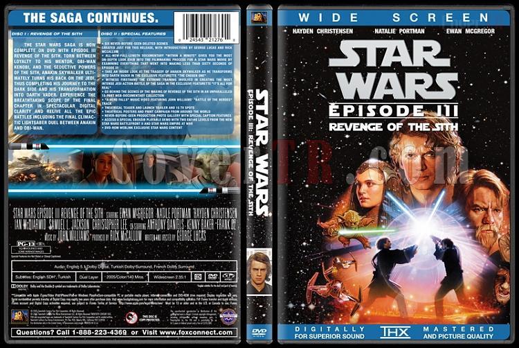 Star Wars Collection - Custom Dvd Cover Set - English [1977-2015]-3jpg
