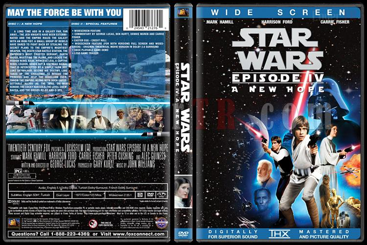 Star Wars Collection - Custom Dvd Cover Set - English [1977-2015]-4jpg