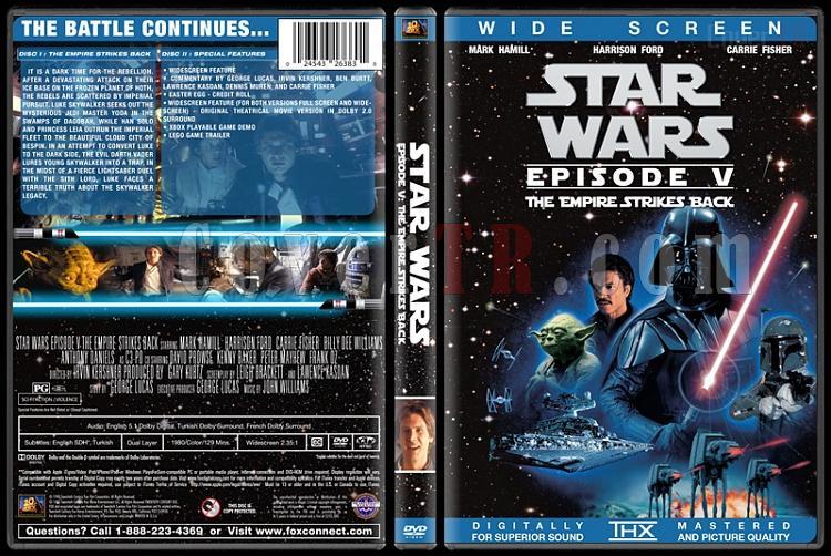 Star Wars Collection - Custom Dvd Cover Set - English [1977-2015]-5jpg