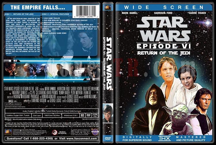 Star Wars Collection - Custom Dvd Cover Set - English [1977-2015]-6jpg