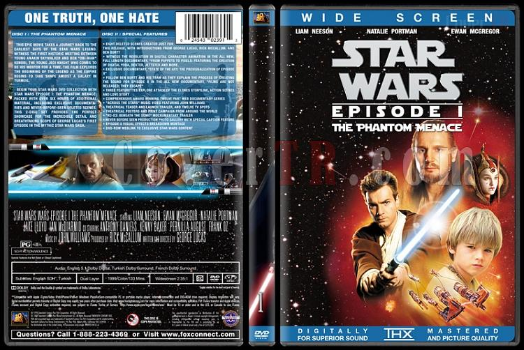 Star Wars Collection - Custom Dvd Cover Set - English [1977-2015]-1jpg