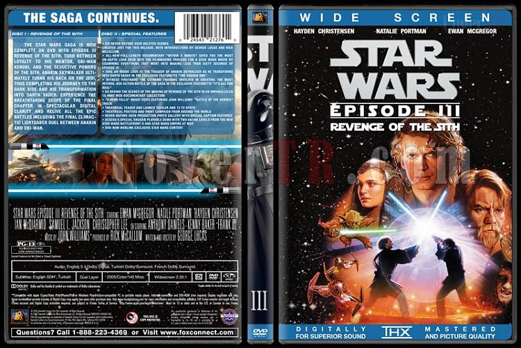 Star Wars Collection - Custom Dvd Cover Set - English [1977-2015]-3jpg