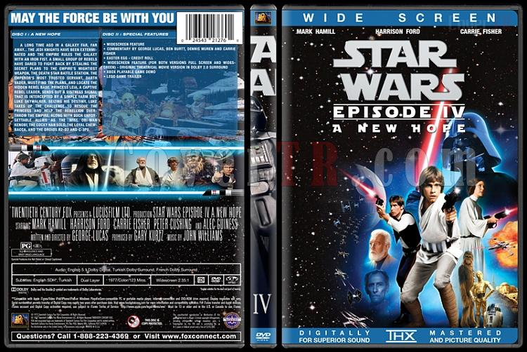 Star Wars Collection - Custom Dvd Cover Set - English [1977-2015]-4jpg