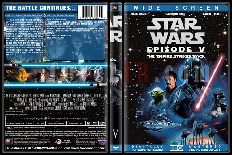 Star Wars Collection - Custom Dvd Cover Set - English [1977-2015]-5jpg