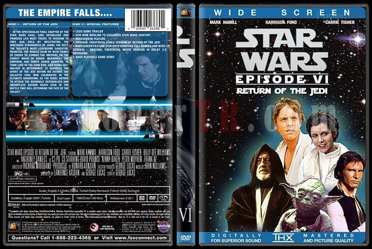 Star Wars Collection - Custom Dvd Cover Set - English [1977-2015]-6jpg