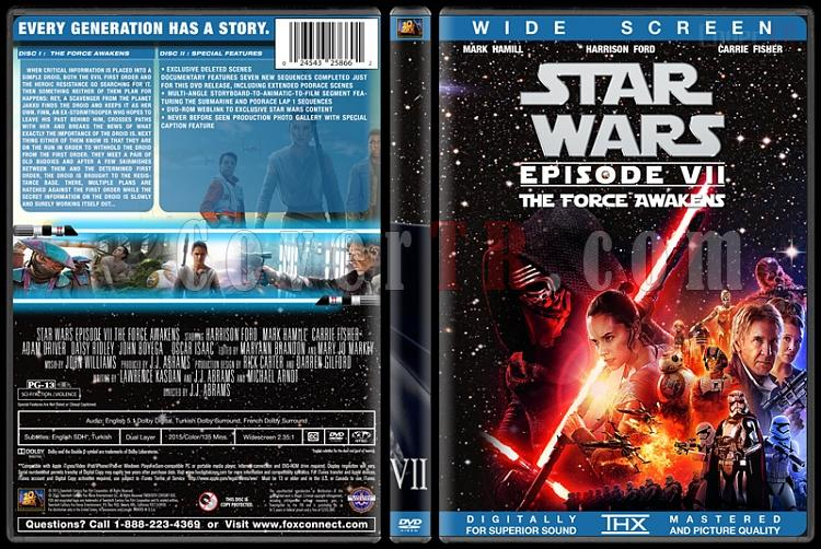 Star Wars Collection - Custom Dvd Cover Set - English [1977-2015]-7jpg
