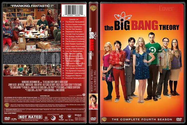 The Big Bang Theory (Seasons 1-9) - Custom Dvd Cover Set - English [2007-?]-4jpg