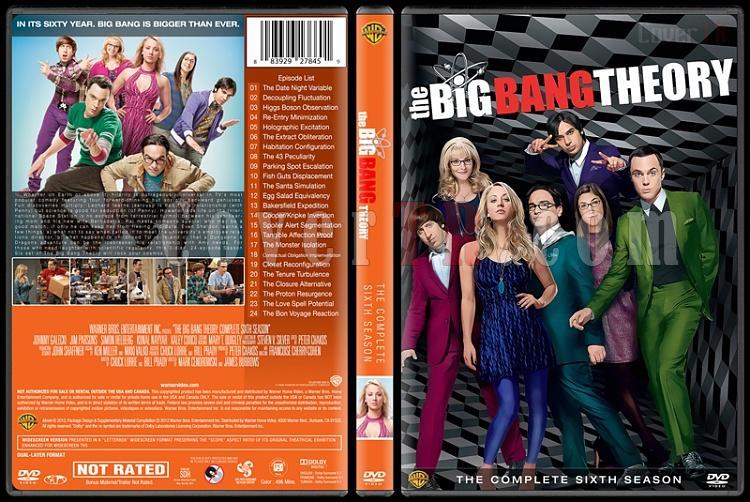 The Big Bang Theory (Seasons 1-9) - Custom Dvd Cover Set - English [2007-?]-6jpg