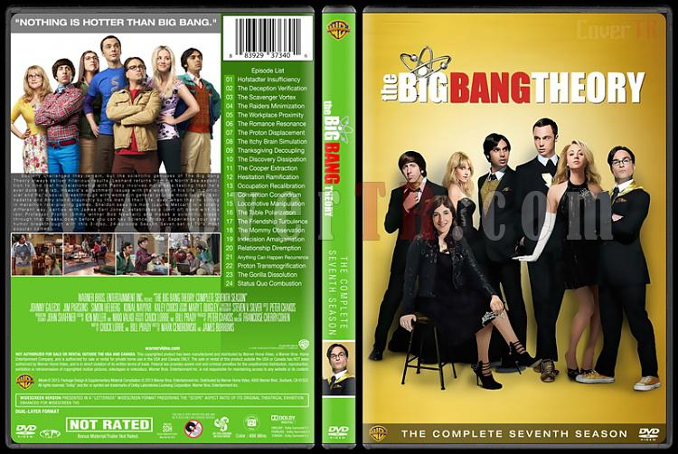 The Big Bang Theory (Seasons 1-9) - Custom Dvd Cover Set - English [2007-?]-7jpg