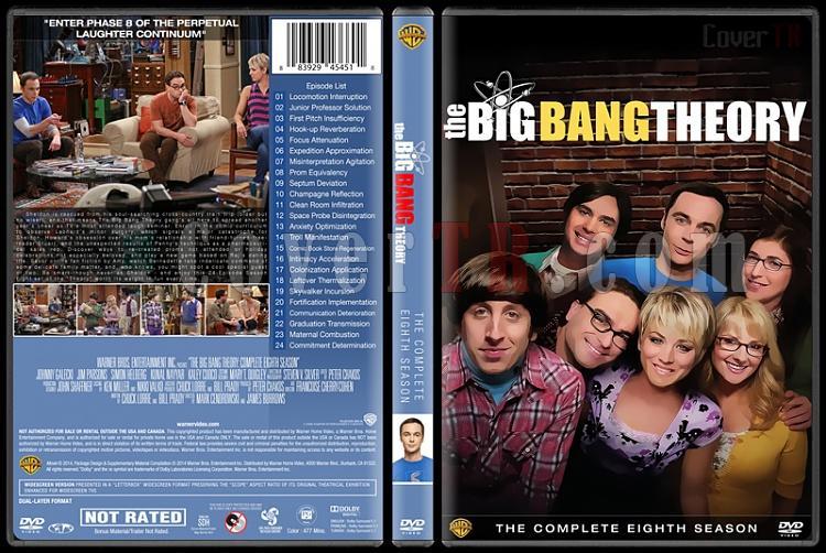 The Big Bang Theory (Seasons 1-9) - Custom Dvd Cover Set - English [2007-?]-8jpg