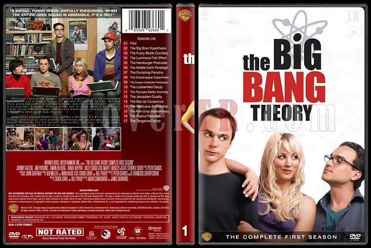The Big Bang Theory (Seasons 1-9) - Custom Dvd Cover Set - English [2007-?]-1jpg