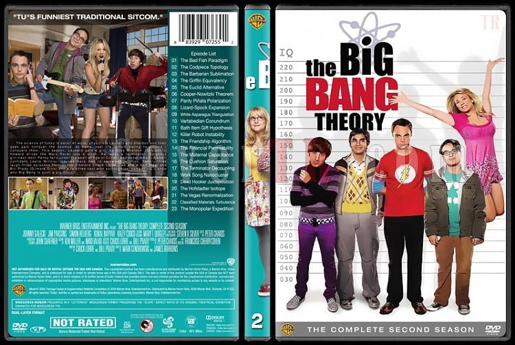 The Big Bang Theory (Seasons 1-9) - Custom Dvd Cover Set - English [2007-?]-2jpg