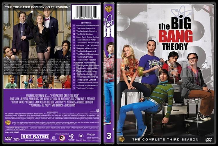 The Big Bang Theory (Seasons 1-9) - Custom Dvd Cover Set - English [2007-?]-3jpg