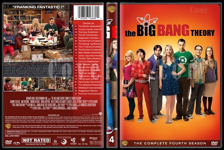 The Big Bang Theory (Seasons 1-9) - Custom Dvd Cover Set - English [2007-?]-4jpg