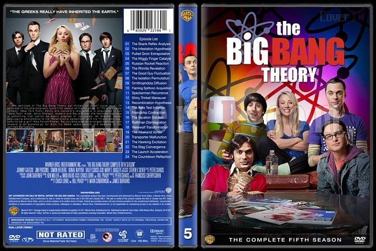 The Big Bang Theory (Seasons 1-9) - Custom Dvd Cover Set - English [2007-?]-5jpg