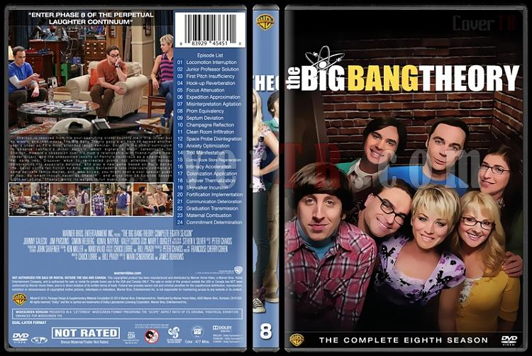 The Big Bang Theory (Seasons 1-9) - Custom Dvd Cover Set - English [2007-?]-8jpg