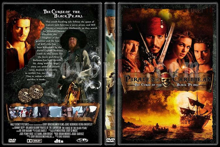 Pirates of the Caribbean Collection - Custom Dvd Cover - English [2003-2011]-pirates-caribbean-1jpg