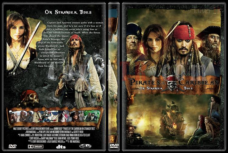 Pirates of the Caribbean Collection - Custom Dvd Cover - English [2003-2011]-pirates-caribbean-4jpg