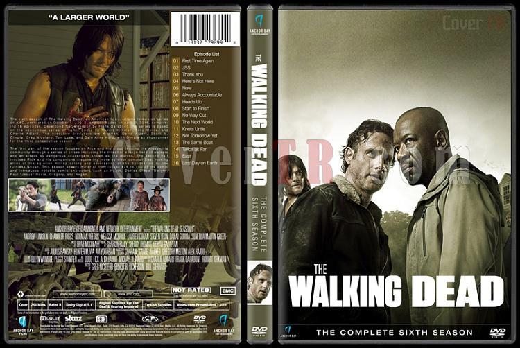 The Walking Dead  (Seasons 1-6) - Custom Dvd Cover Set - English [2010-?]-season-6jpg