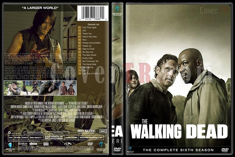 The Walking Dead (Seasons 1-6) - Custom Dvd Cover Set - English [2010-?]-season-6jpg