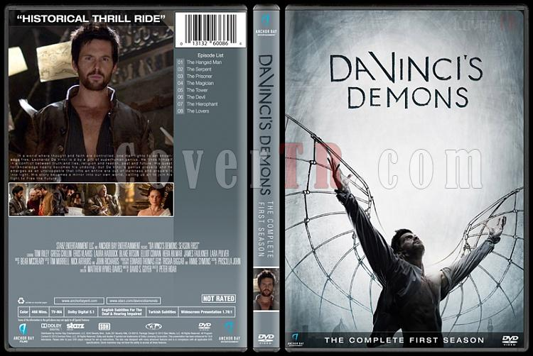 Da Vinci's Demons (Seasons 1-3) - Custom Dvd Cover - English [2013-2015]-1jpg