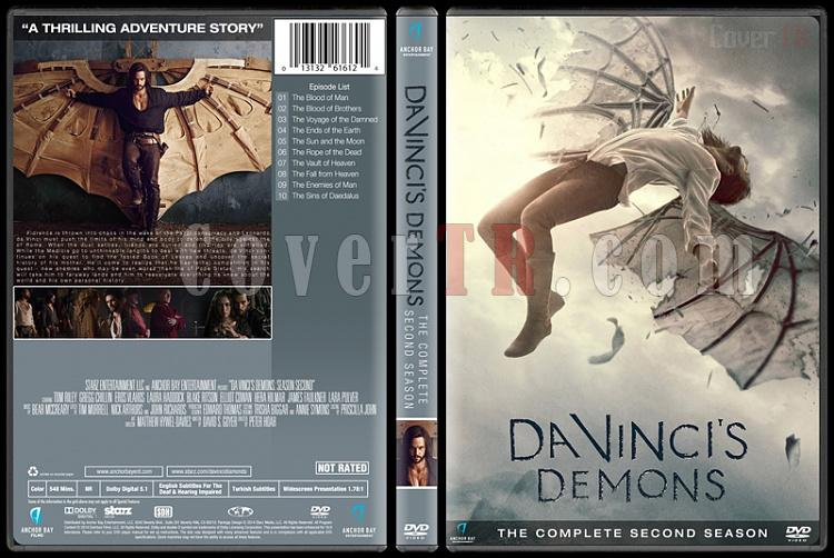 Da Vinci's Demons (Seasons 1-3) - Custom Dvd Cover - English [2013-2015]-2jpg