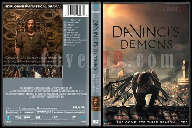 Da Vinci's Demons (Seasons 1-3) - Custom Dvd Cover - English [2013-2015]-3jpg