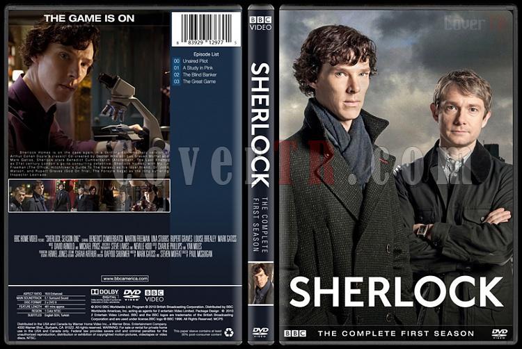 Sherlock (Seasons 1-3) - Custom Dvd Cover Set - English [2010-?]-1jpg