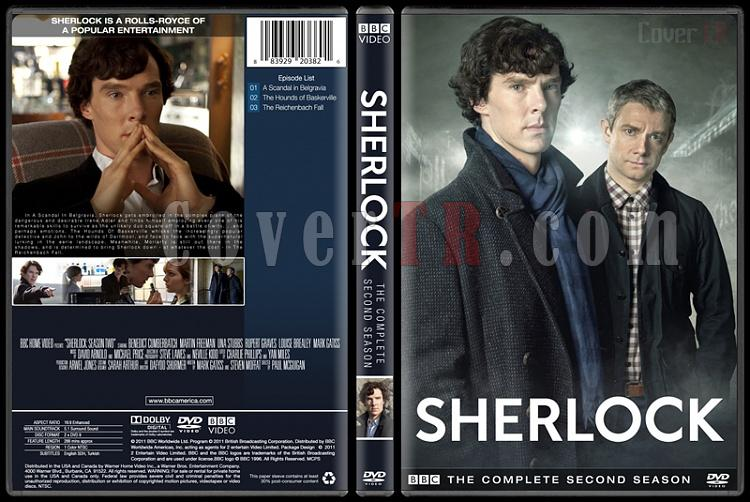 Sherlock (Seasons 1-3) - Custom Dvd Cover Set - English [2010-?]-2jpg