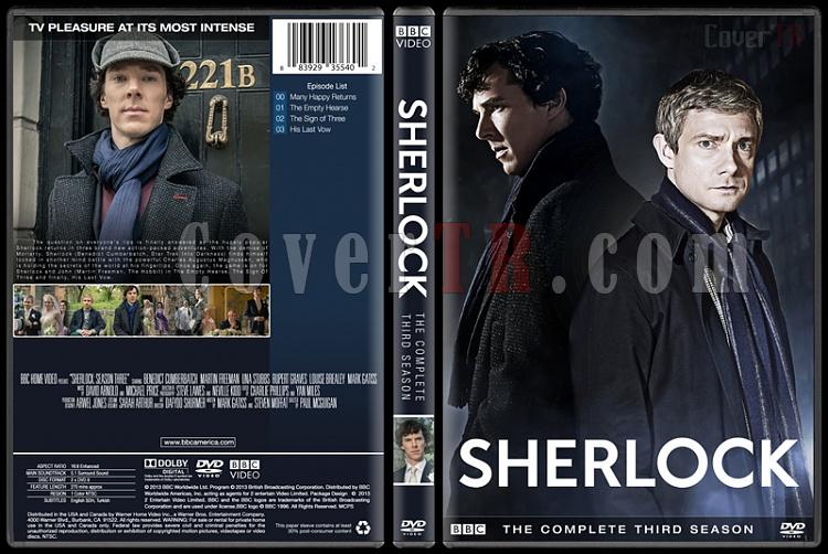 Sherlock (Seasons 1-3) - Custom Dvd Cover Set - English [2010-?]-3jpg