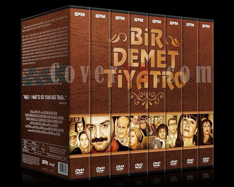 Bir Demet Tiyatro (Sezon 1-8) - Custom Dvd Cover Set - Türkçe [1995-2007]-000jpg
