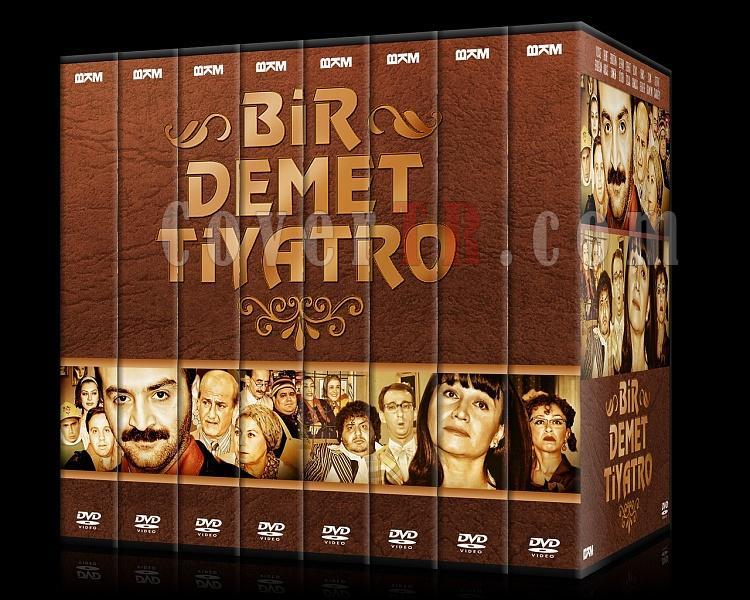 Bir Demet Tiyatro (Sezon 1-8) - Custom Dvd Cover Set - Türkçe [1995-2007]-00jpg
