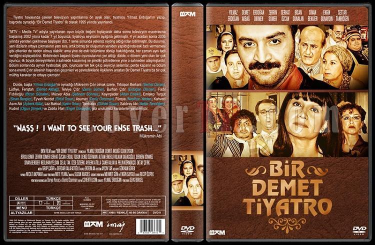 Bir Demet Tiyatro (Sezon 1-8) - Custom Dvd Cover Set - Türkçe [1995-2007]-1jpg