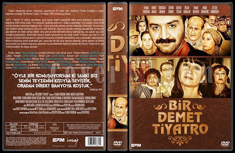 Bir Demet Tiyatro (Sezon 1-8) - Custom Dvd Cover Set - Türkçe [1995-2007]-3jpg