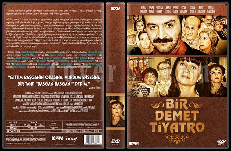 Bir Demet Tiyatro (Sezon 1-8) - Custom Dvd Cover Set - Türkçe [1995-2007]-8jpg