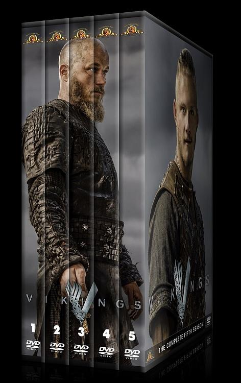 Vikings (Season 1-4) - Custom Dvd Cover Set - English [2013-?]-000jpg