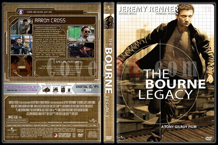 The Bourne Collection - Custom Dvd Cover Set - English [2002-2016]-05jpg