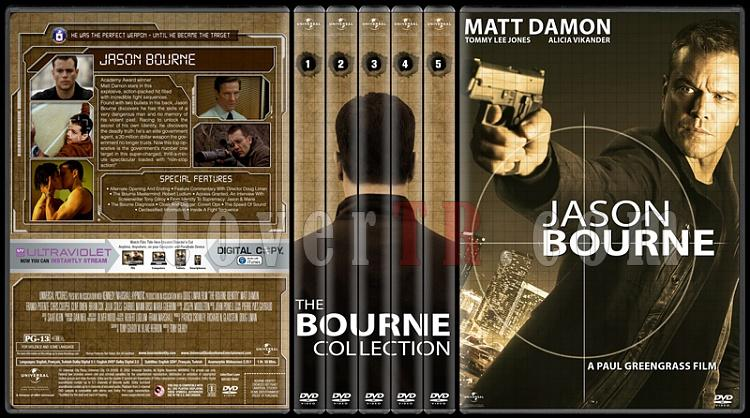 The Bourne Collection - Custom Dvd Cover Set - English [2002-2016]-01jpg