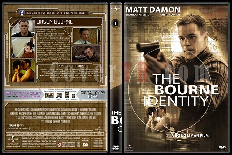 The Bourne Collection - Custom Dvd Cover Set - English [2002-2016]-02jpg