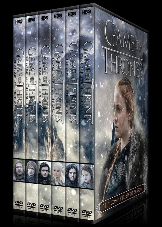 Game of Thrones (Season 1-6) - Custom Dvd Cover Set - English [2011-?]-00jpg