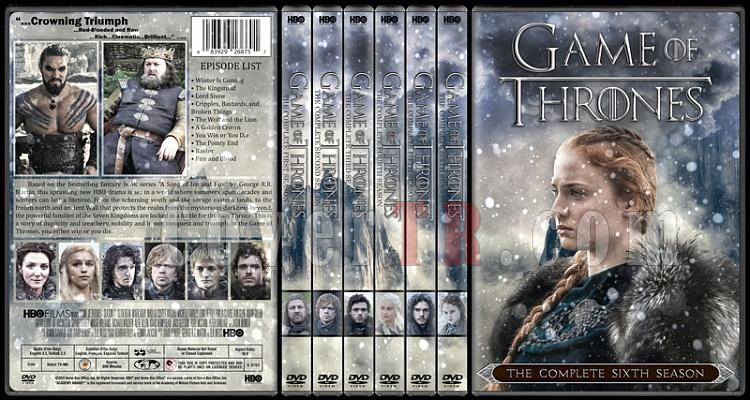 Game of Thrones (Season 1-6) - Custom Dvd Cover Set - English [2011-?]-01jpg