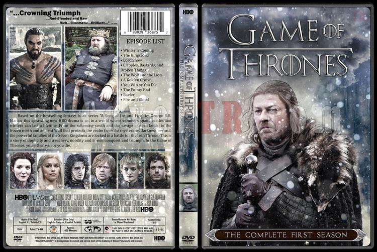 Game of Thrones (Season 1-6) - Custom Dvd Cover Set - English [2011-?]-02jpg