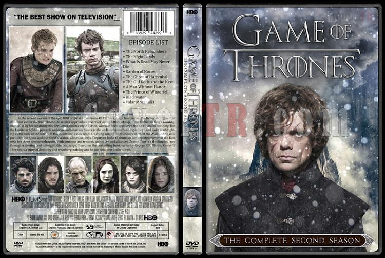Game of Thrones (Season 1-6) - Custom Dvd Cover Set - English [2011-?]-03jpg