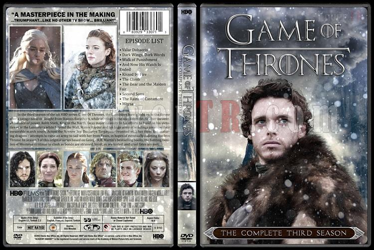Game of Thrones (Season 1-6) - Custom Dvd Cover Set - English [2011-?]-04jpg