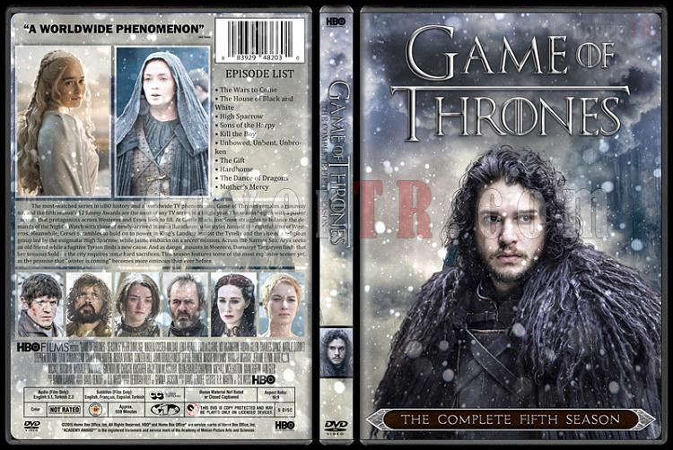Game of Thrones (Season 1-6) - Custom Dvd Cover Set - English [2011-?]-06jpg
