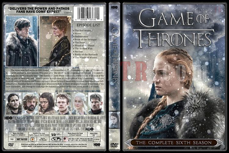 Game of Thrones (Season 1-6) - Custom Dvd Cover Set - English [2011-?]-07jpg
